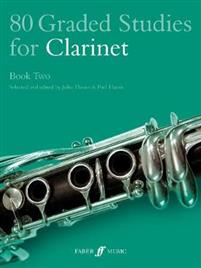 80 Graded Studies for Clarinet Book Two