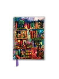 Aimee Stewart: Treasure Hunt Bookshelves (Foiled Pocket Journal)