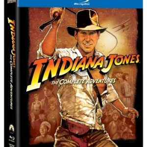Indiana Jones: 1-4 Complete Collection (5-disc Blu-ray)