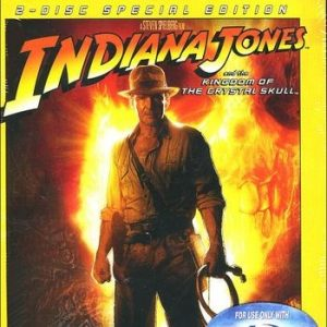 Indiana Jones och kristalldödskallens rike (2-disc Blu-ray)