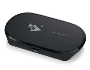 Zyxel WAH7601 LTE 3G/4G Portable Router Cat.4 150 Mbps