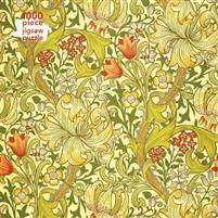 Adult Jigsaw Puzzle William Morris Gallery: Golden Lily: 1000-Piece Jigsaw Puzzles