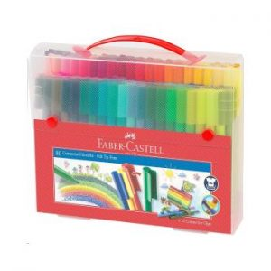 Faber-Castell - Connector Pens, Carry case, 80 pc (155579)