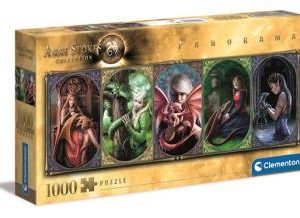 1000 pcs. High Quality Collection Panorama Anne Stokes - Dragon Friendship