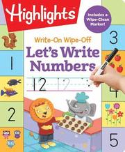 Write-on Wipe-Off: Let's Write Numbers